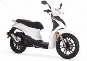 Skuter Romet White City 125